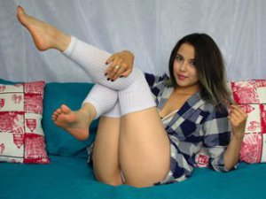 Webcam Lesbienne sex met Eyraa